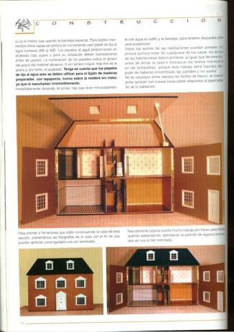 Casas De Muñecas Instruciones Y Planos Para Su Construcción Variasmanualidades S Blog