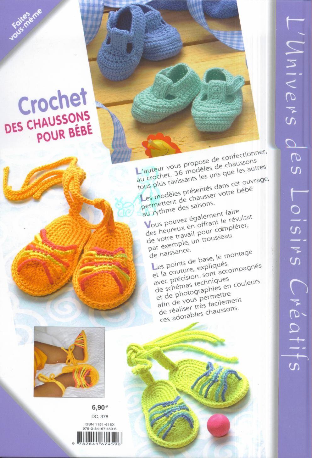 CROCHET GANCHILLO: patucos