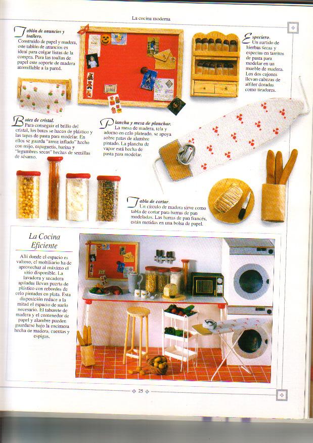 CASAS DE MUÑECAS: muebles de cocina   Variasmanualidades\'s Blog