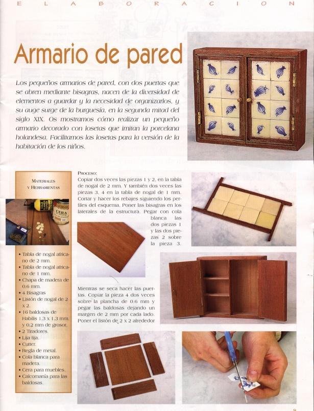 Casas de mu ecas muebles de cocina variasmanualidades 39 s - Muebles casas munecas ...