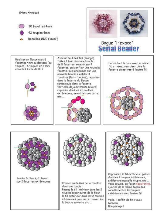 b803f17c8ceb abalorios  esquemas de anillos y colgantes « Variasmanualidades s Blog