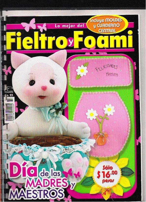 marzo 2009 en 594 × 821 en FIELTRO: especial día de la madre