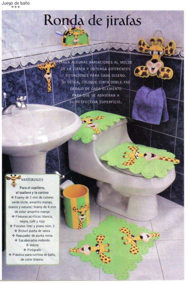 Foami: decorar cuartos de baños y cocinas « variasmanualidades's blog