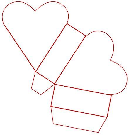 Cajas de carton corrugado para regalo moldes - Imagui