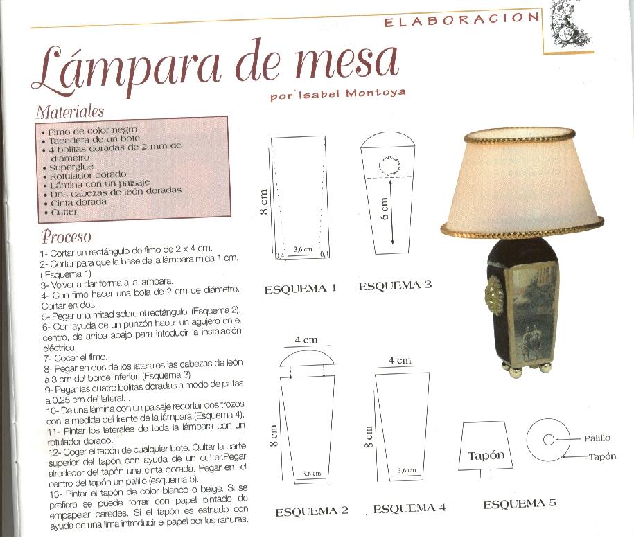 Casas de mu ecas construcci n de l mparas - Casa de las lamparas ...