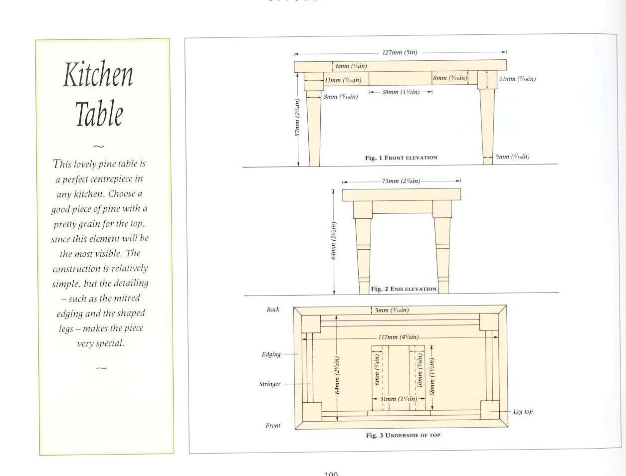 Casas De Mu Ecas Planos Para Construir Mesas