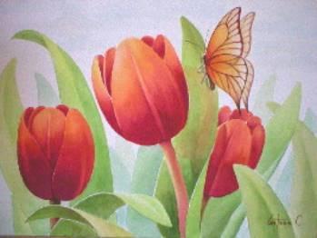 Plantillas para pintar en seda lienzo pirograbar - Aprender a pintar en madera ...