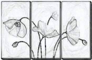 Plantillas para pintar en seda lienzo pirograbar - Plantillas para pintar cuadros ...