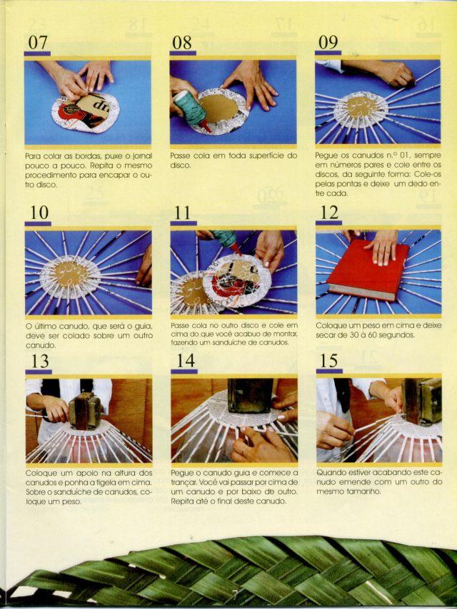 Con papel de peri dico fruteros marcos maceteros se hace con muy poco dinero - Manualidades con papel periodico paso a paso ...