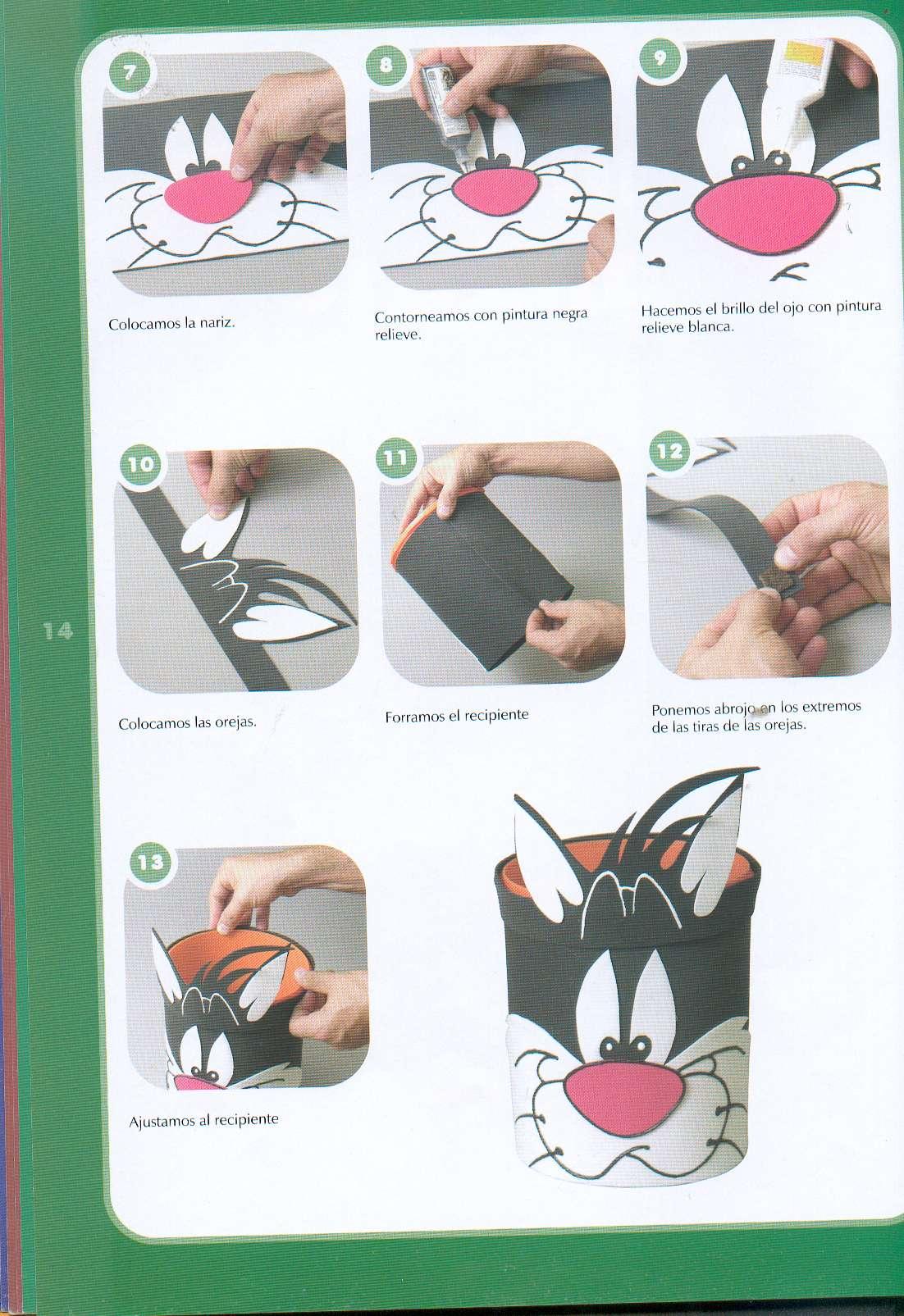 Goma eva varios trabajos muy f ciles de hacer y - Trabajos manuales faciles para hacer en casa ...