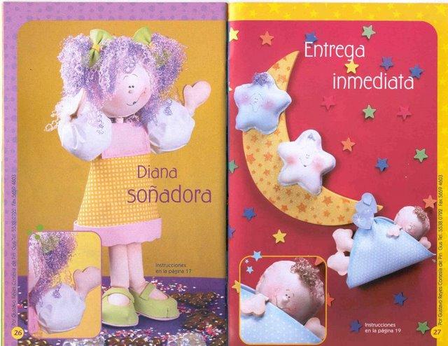 FOAMY EN 3D: más muñecas para Gloria « Variasmanualidades's Blog