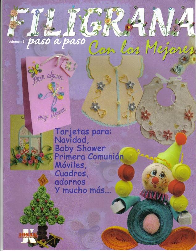 FILIGRANA: tarjetas para navidad, primera comunión, móviles ...