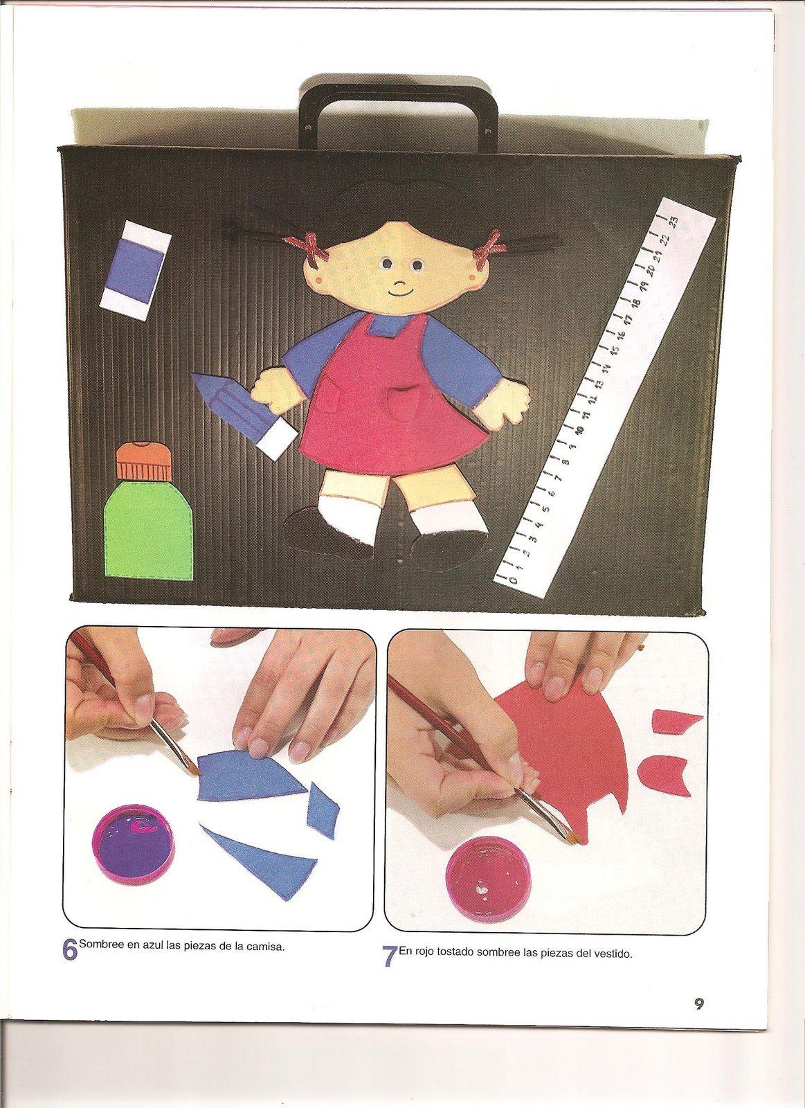 :carpetas, rompecabezas, portalápices… fáciles para los niños