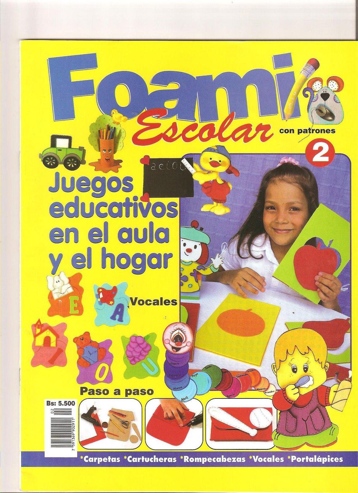 FOAMY ESCOLAR Carpetas  Rompecabezas  Portal  Pices    F  Ciles Para