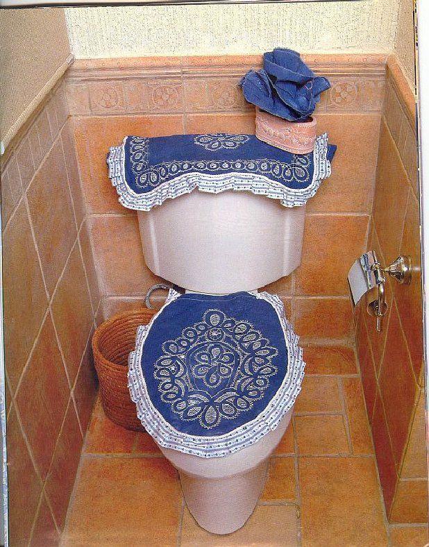 Decoracion De Baño En Tela:Manualidades con telas para el baño – Imagui