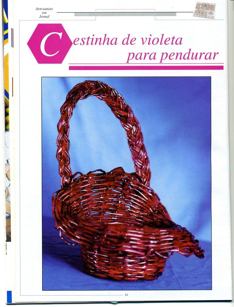 Arte con papel cester a variasmanualidades 39 s blog - Manualidades de papel periodico faciles ...
