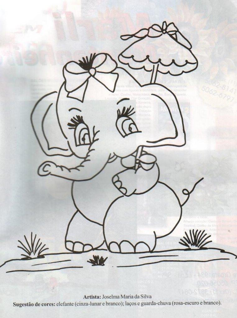 Diversos riscos e moldes v rios riscos - Dibujos para pintar en tela infantiles ...