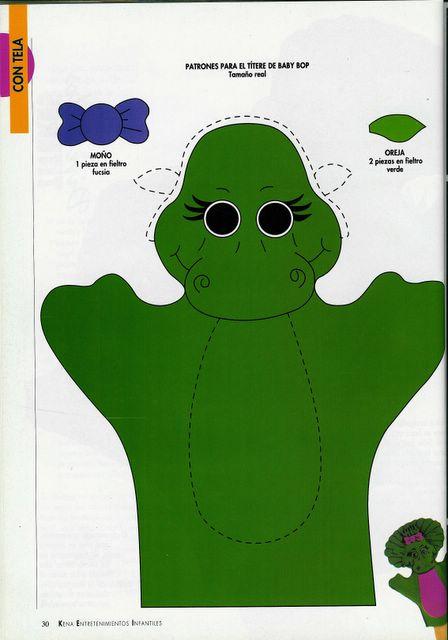 FOAMY Y FIELTRO: títeres y marionetas de goma eva y tela ...