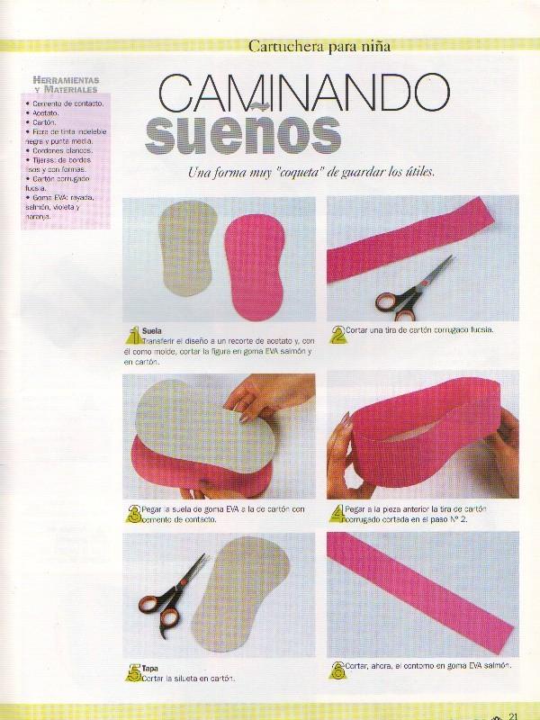 Modes de zapatos en foami para bebés - Imagui