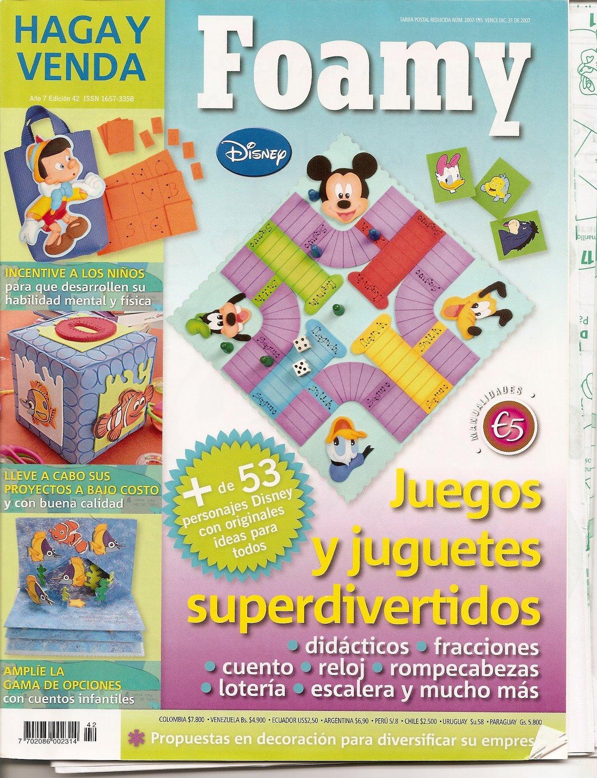 FOAMY  Juegos Y Juguetes Superdivertidos