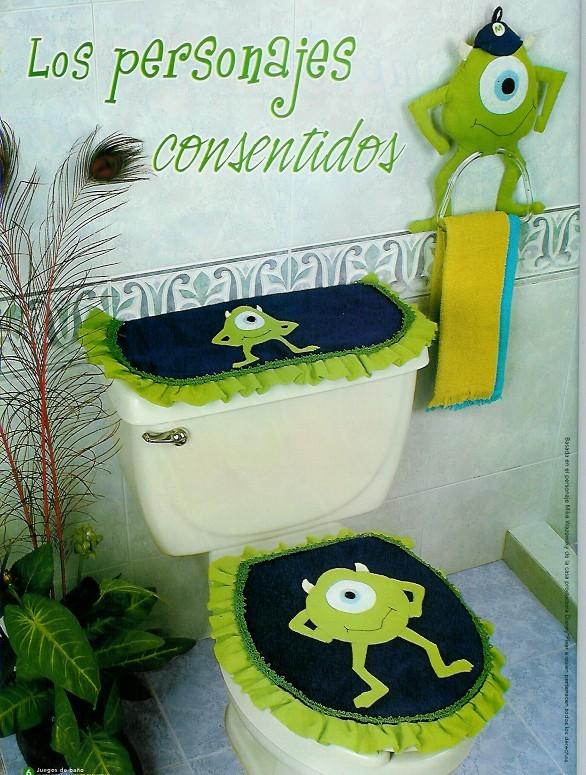 Imagenes De Juegos De Baño En Tela:Juegos De Bano En Fieltro