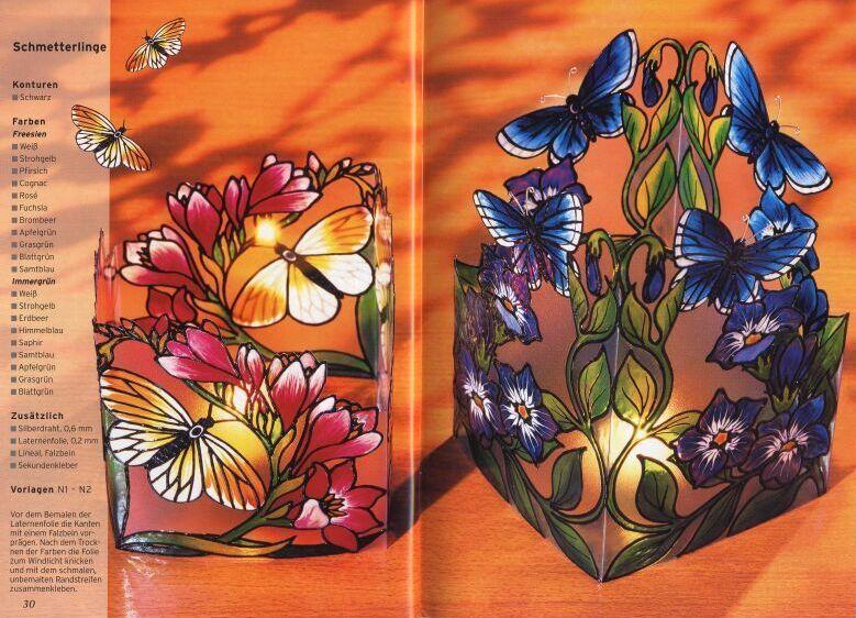 VITRALES: especial flores