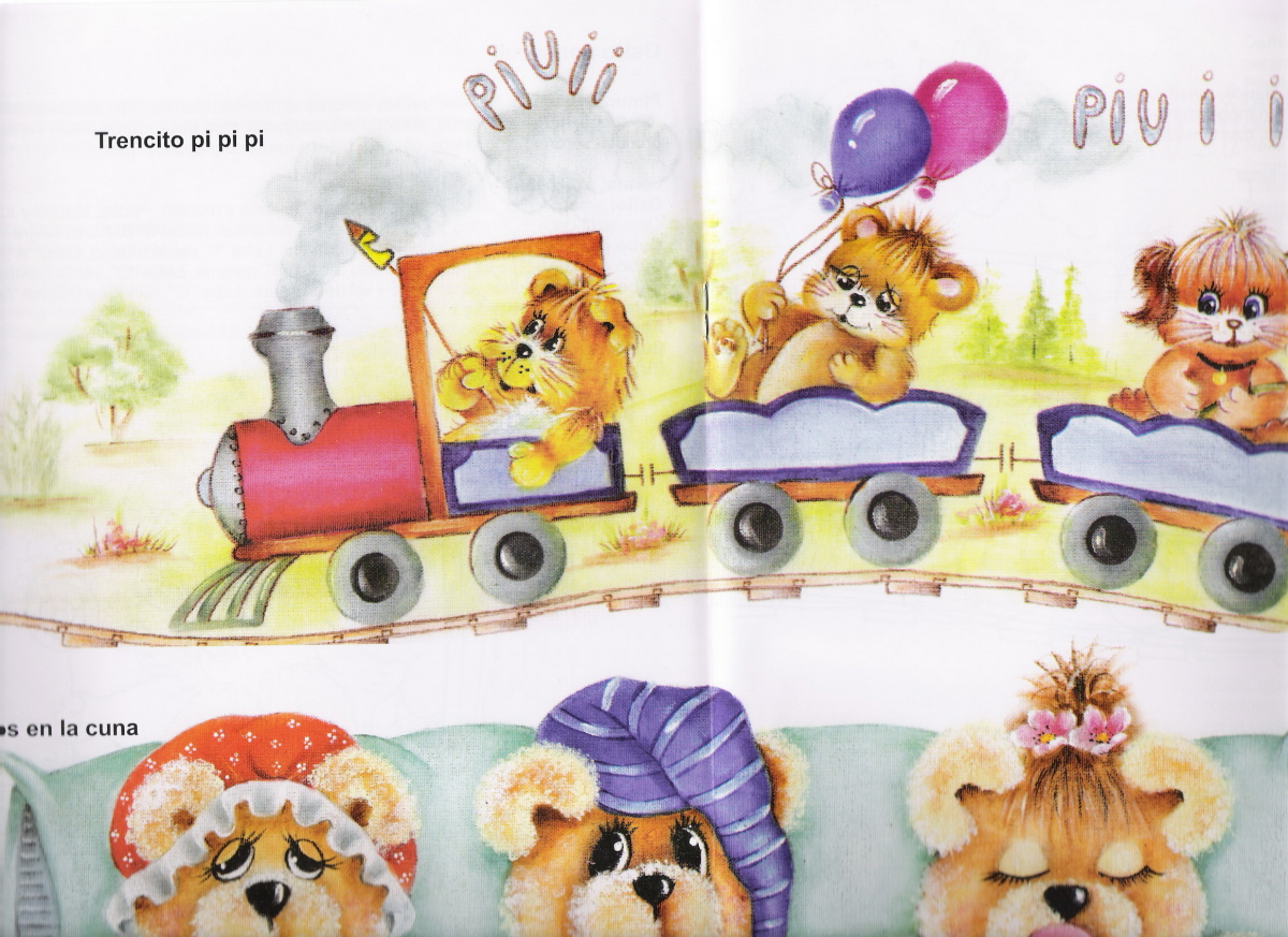 Dibujos infantiles para pintar en tela gratis imagui - Telas con motivos infantiles ...