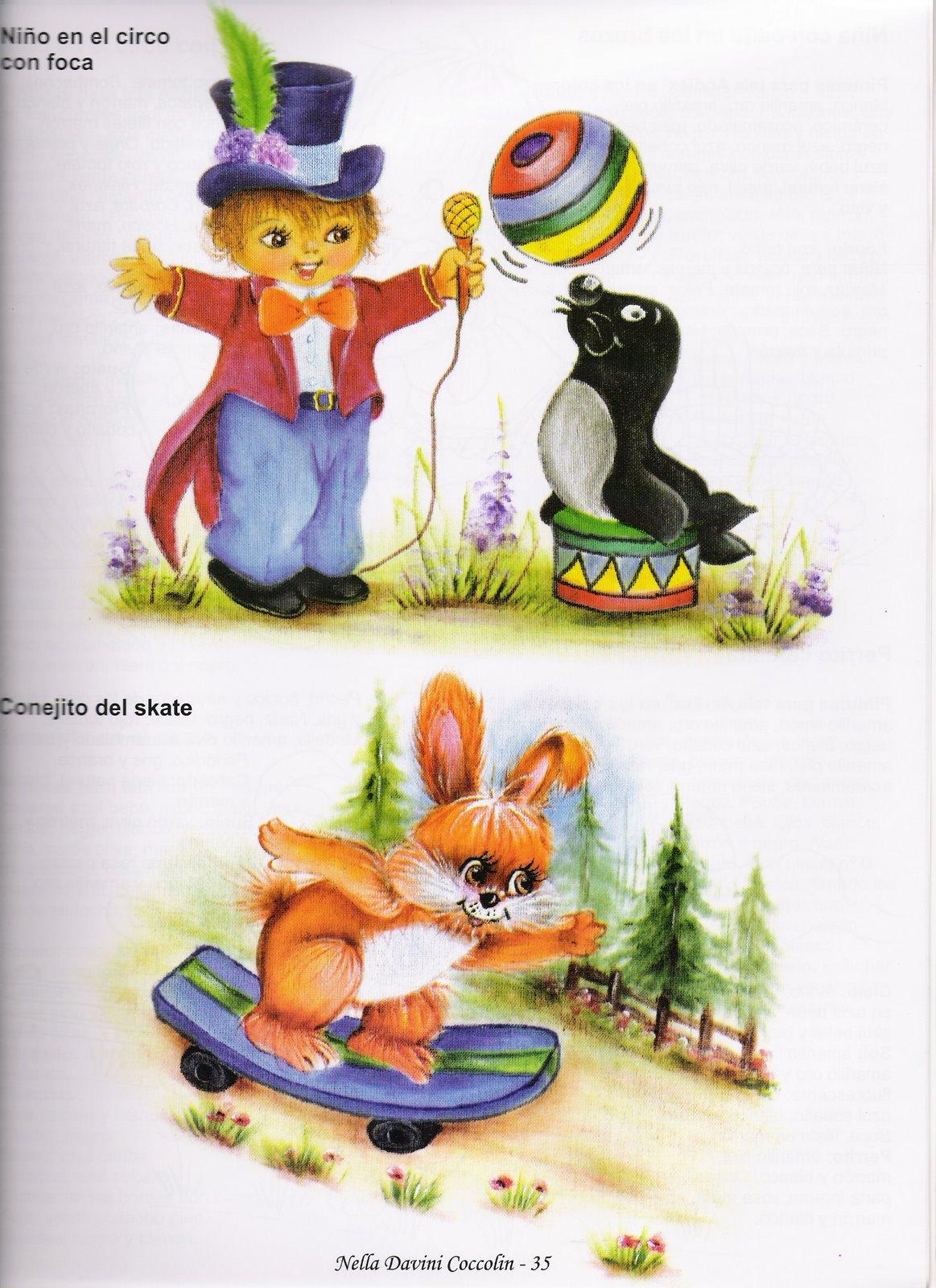 26 mayo 2009 variasmanualidades 39 s blog - Dibujos para pintar en tela infantiles ...