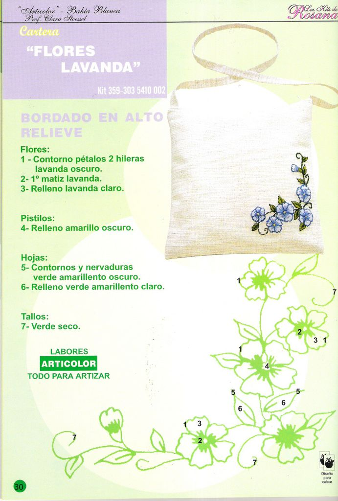 BORDADO CON CINTAS: toallas, tapetes, cojines ...