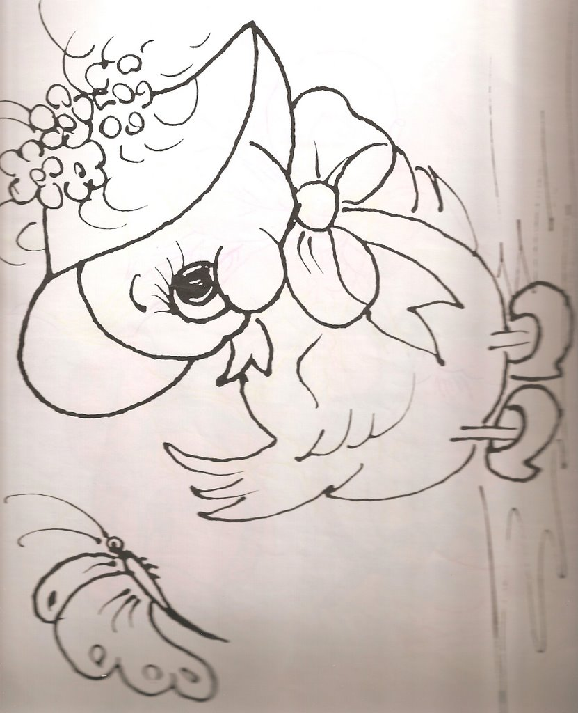 PINTURA SOBRE TELA: dibujos infantiles « Variasmanualidades's Blog