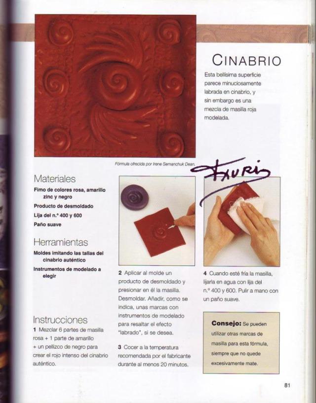 Imitar materiales decorativos con fimo ed. drac pag.81