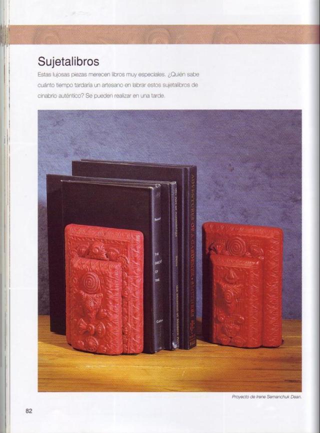 Imitar materiales decorativos con fimo ed. drac pag.82