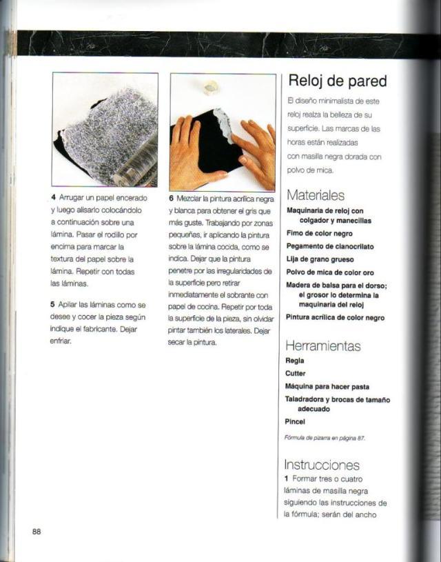 Imitar materiales decorativos con fimo ed. drac pag.88