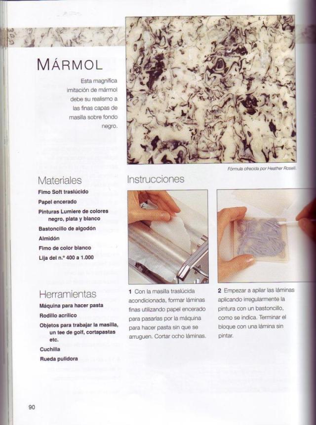 Imitar materiales decorativos con fimo ed. drac pag.90