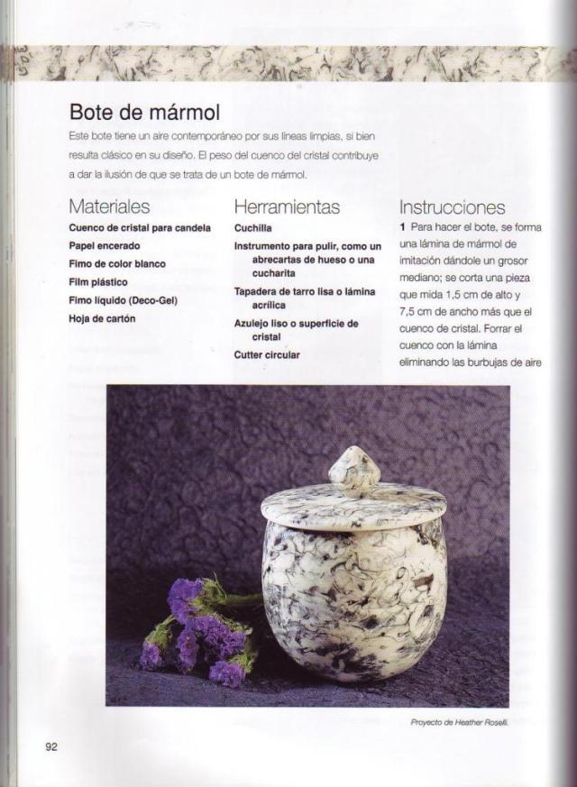 Imitar materiales decorativos con fimo ed. drac pag.92