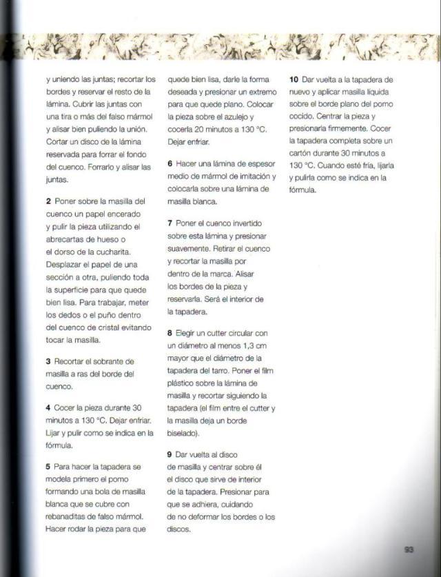 Imitar materiales decorativos con fimo ed. drac pag.93