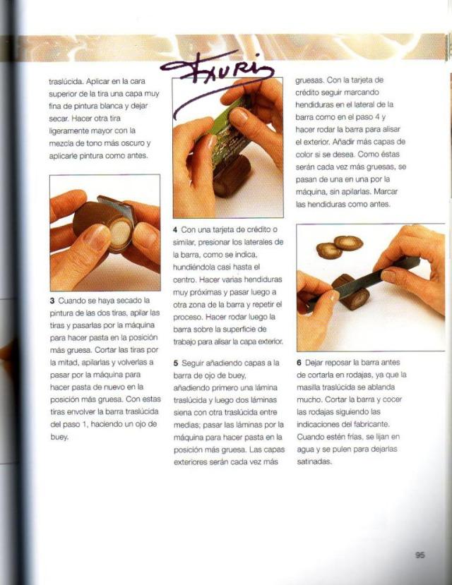 Imitar materiales decorativos con fimo ed. drac pag.95