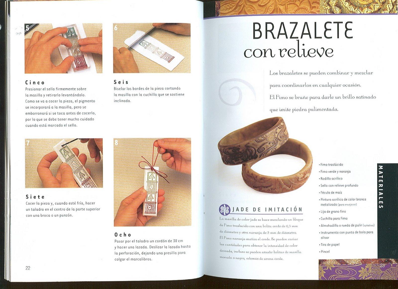 Fimo la t cnica de estampar fimo variasmanualidades 39 s blog for Tecnicas gastronomicas pdf