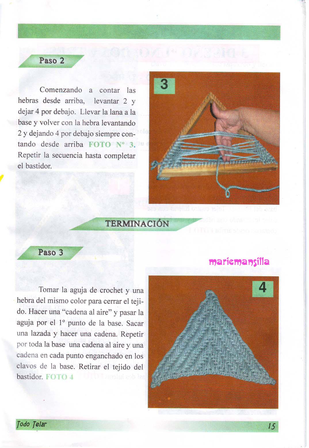 Moderno Patrones De Deslizamiento Puntada De Tejer 2 De Color Modelo ...