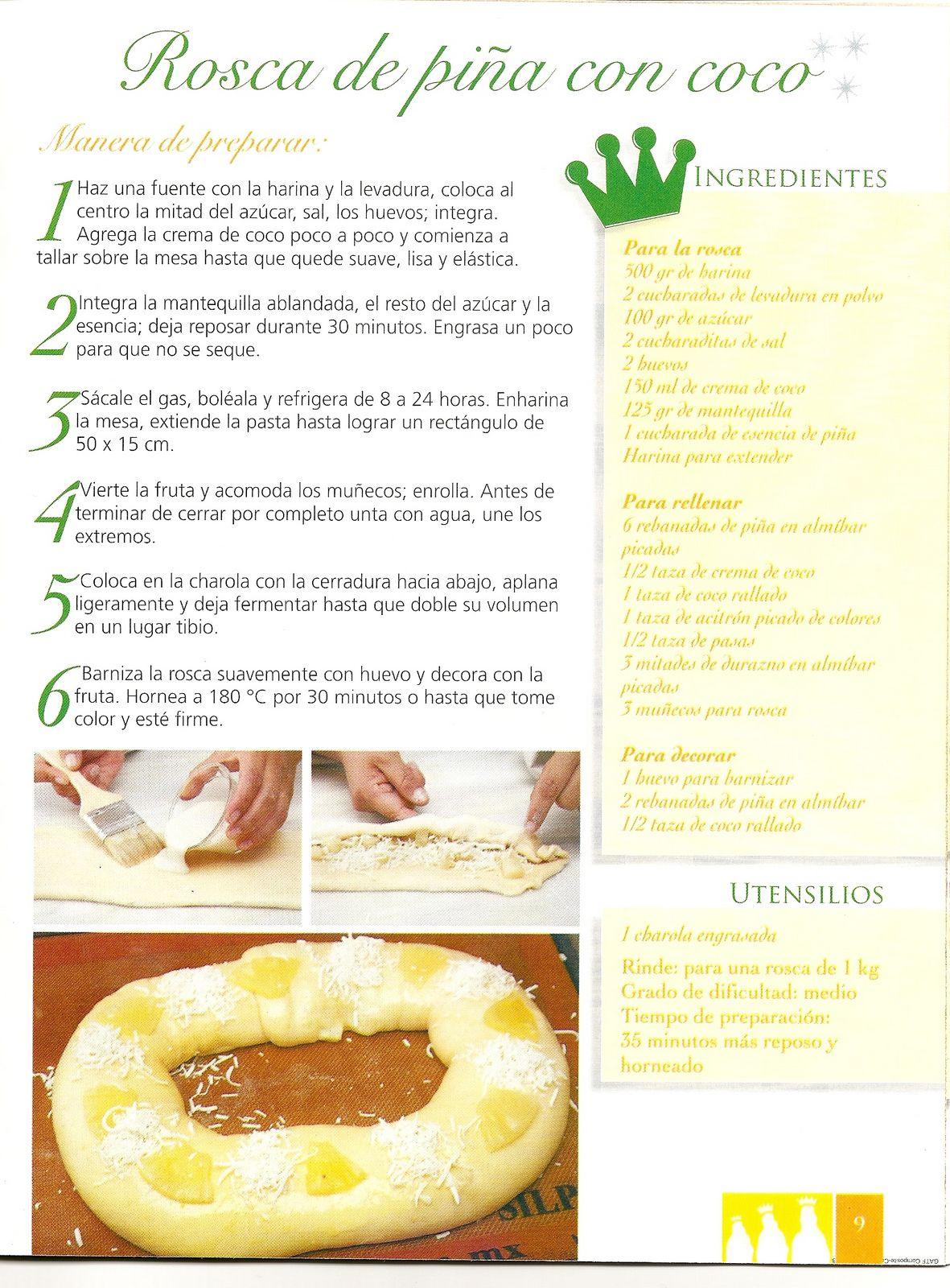 ROSCONES DE REYES: originales recetas paso a paso ...