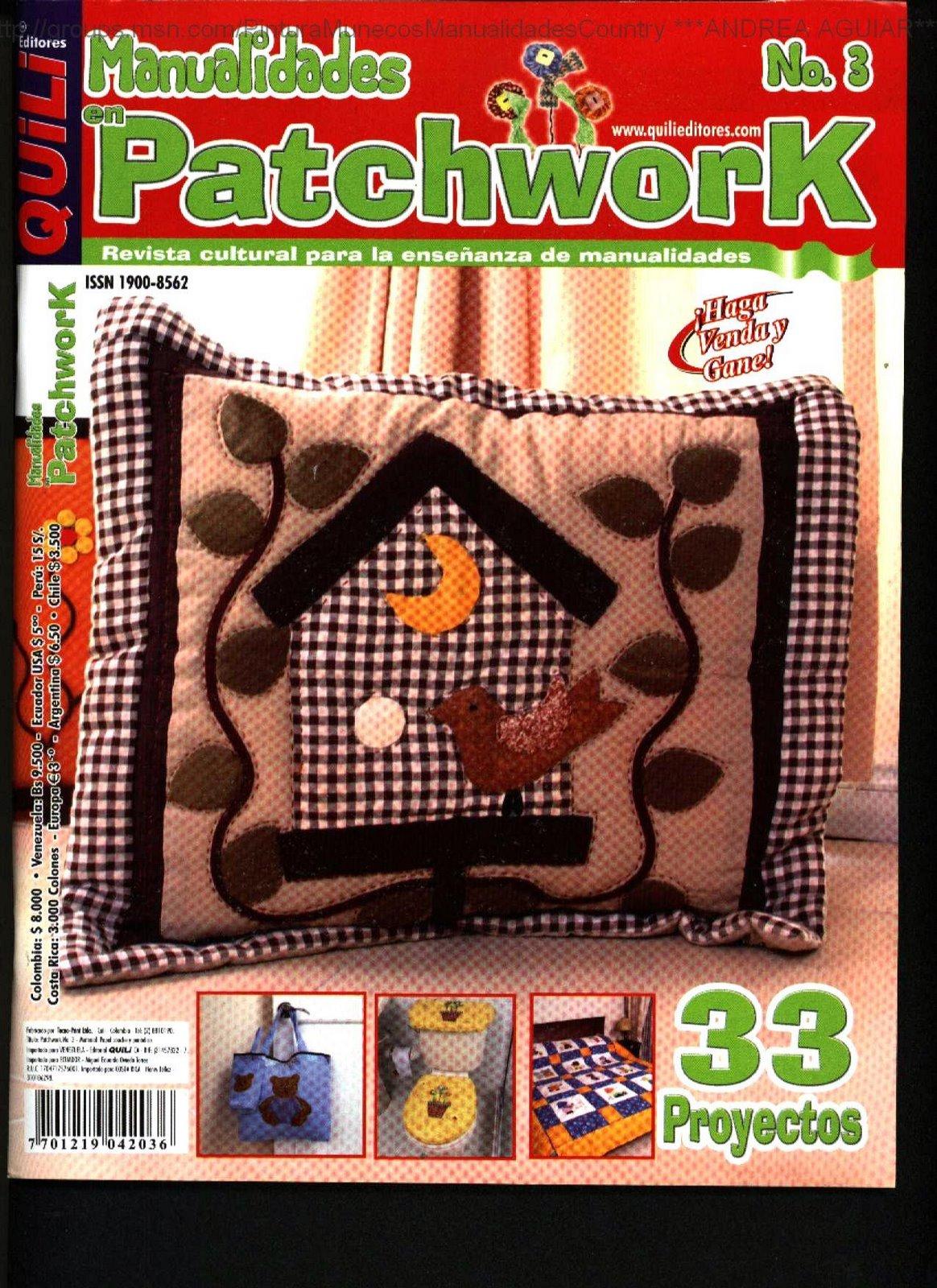 Patchwork 33 Proyectos Cojines Juego De Bano Edredon Infantil - Edredones-password
