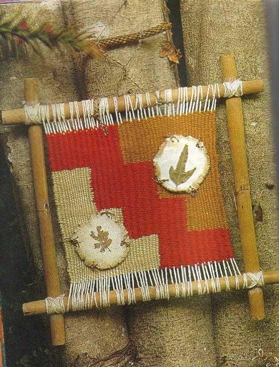 El arte del tapiz esplicado paso a paso con los moldes - Tapices de macrame ...