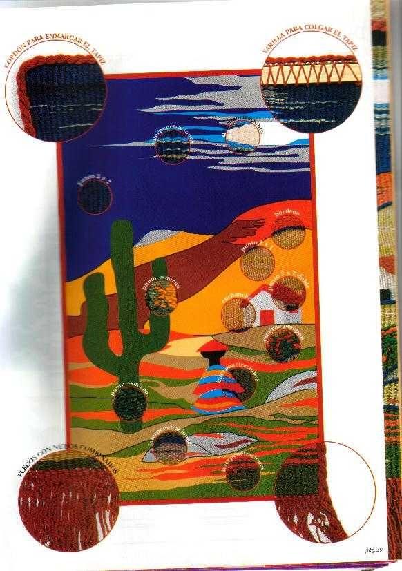 EL ARTE DEL TAPIZ: esplicado paso a paso, con los moldes de varios ...