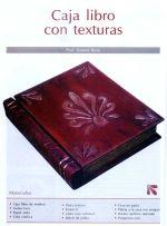 18 caja libro con texturas