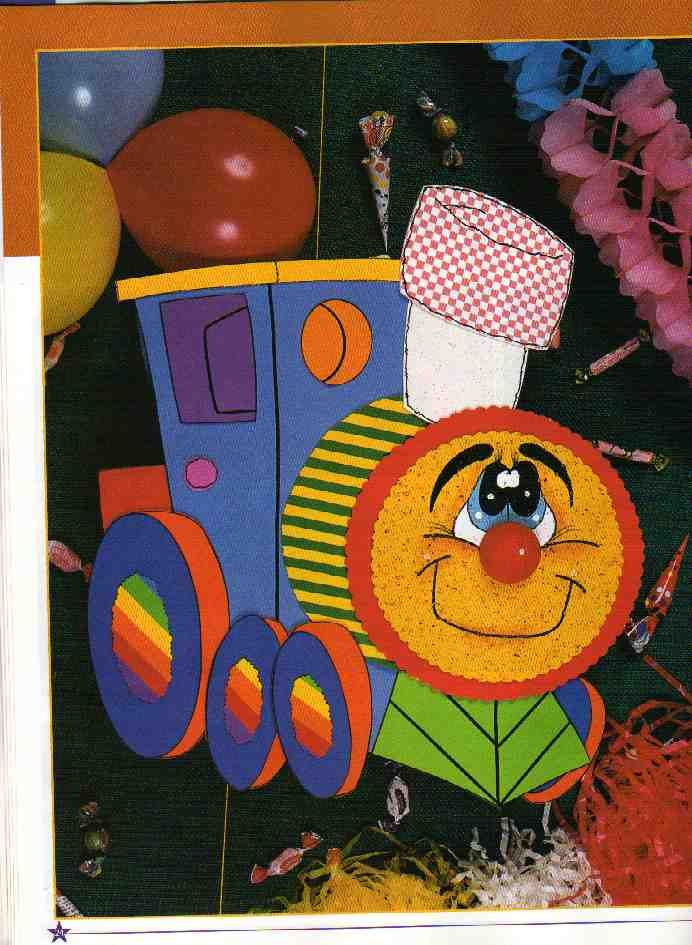 GOMA EVA: Fiestas infantiles, cotillón. « Variasmanualidades's Blog