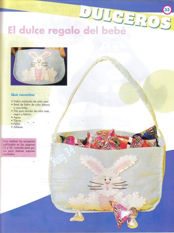 Para Descargar La Revista Con Los Moldes Y Las Instrucciones Picar En