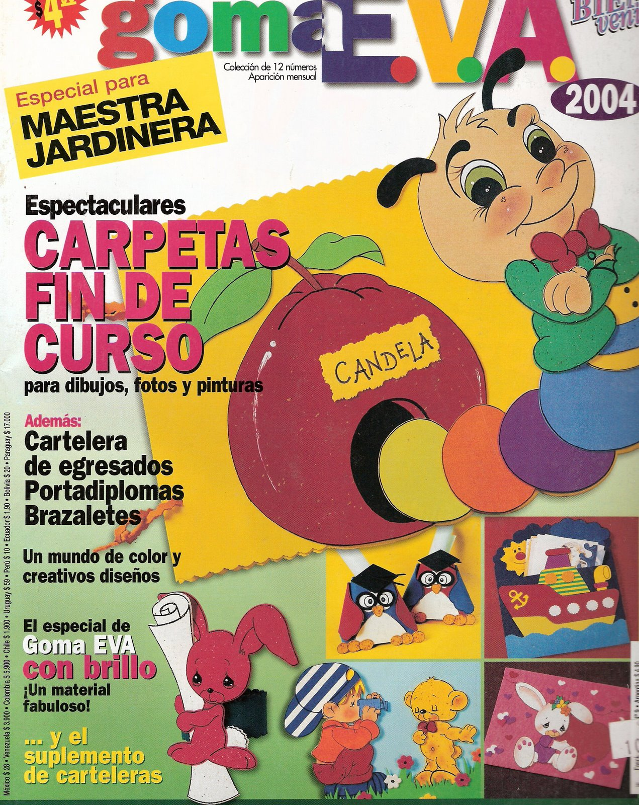 Revistas De Goma Eva