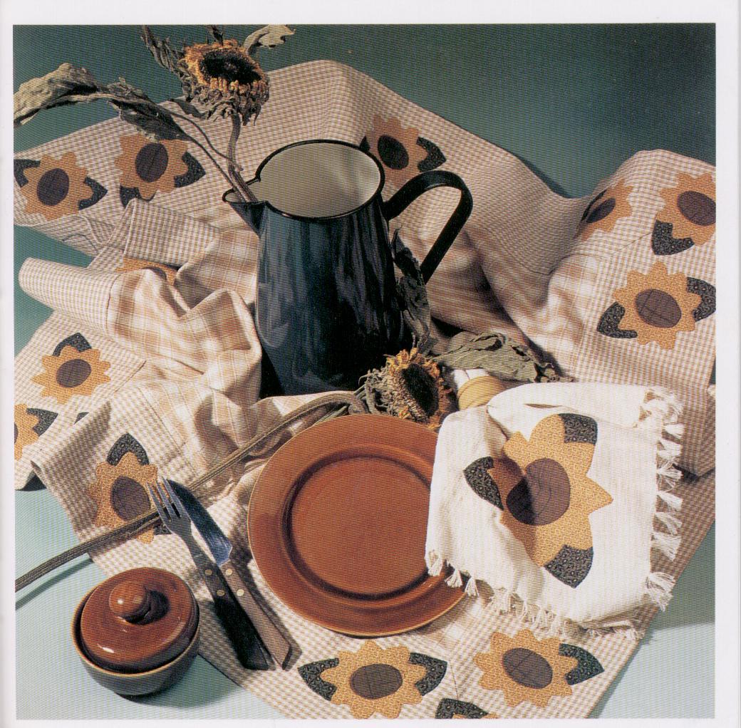 Manualidades con telas aplicaciones con tela para decorar for Telas de cocina