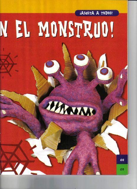 Art attack monstruos de halloween en manualidades art attack piratas bromistas portal 225 pices - Manualidades art attack ...