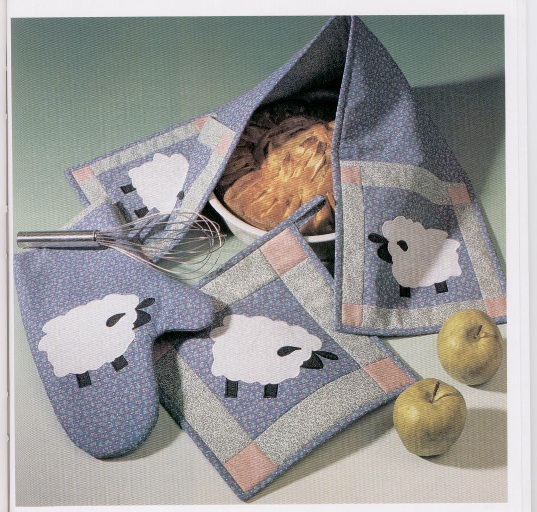 Manualidades con telas aplicaciones con tela para decorar - Telas de cocina ...